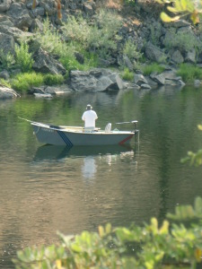Solitude on the Clearwater River.