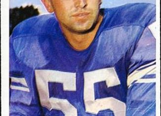 Detroit Lion great Wayne Walker is a former professional football player and sports broadcaster. He played in the NFL for fifteen seasons, from 1958-72 for the Detroit Lions.