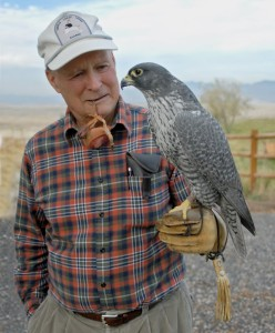 Forty years ago, Dr. Tom Cade established the The Peregrine Fund and began its work with a simple mission to save the Peregrine Falcon from extinction. Today, the center work around the world, conserving birds of prey faced with habitat loss, poisoning, and other challenges. (Peregrine Fund photo)