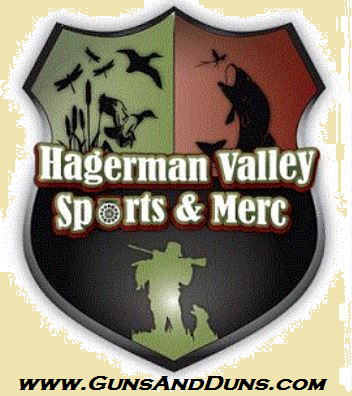 The Hagerman Valley Sports & Mercantile is located smack dab in the middle of Hagerman, Idaho in the beautiful Hagerman Valley. You can contact Christopher at (208)837-6044 or cclaunch@GunsAndDuns.com. http://gunsandduns.com/
