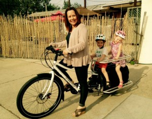 Many Boisean are finding travel on their electric bikes are an energy saving transportation options . (BEB photo)
