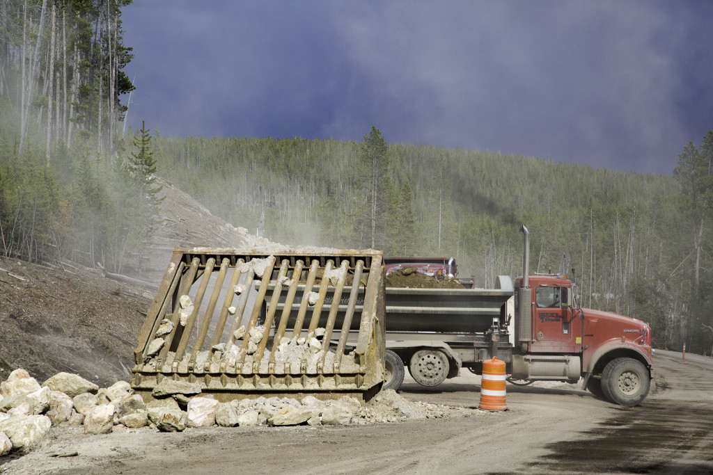 It is a good idea to check with park official about traffic delays when you enter the park. (YNP photo)