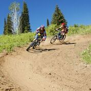 The new shuttle service will take bikers tothe top of Mid-Mountain and open all kinds of mountain bike opportunities at the resort. (Tamarack Resort photo)