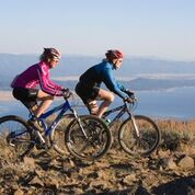 The mountain offers a variety of biking options from challenging to easy. (Tamarack Resort photo)