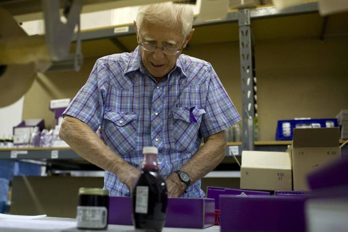 Huckleberry jam and syrup are big sellers for Gem Berry Products (IOJ photo)