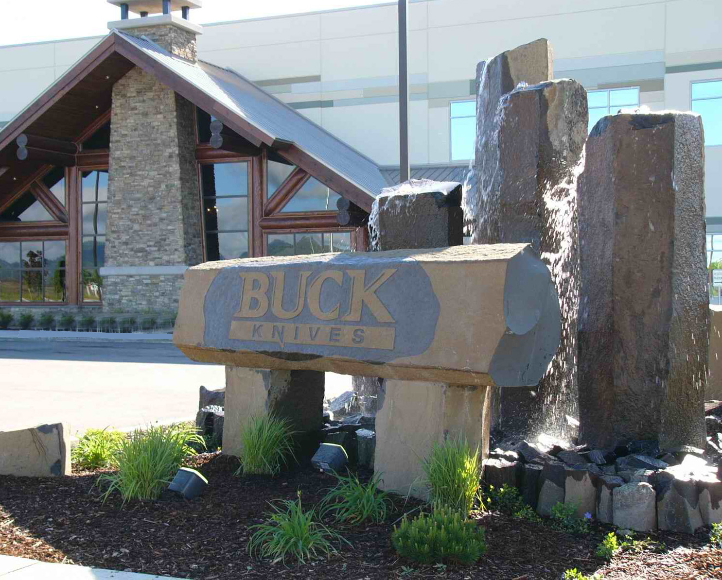 Chuck Buck, Buck Knives CEO, moved the famous knife-making company to a modern, state-of-the-art facility to Post Falls in northern Idaho in 2005. IOJ file photo.