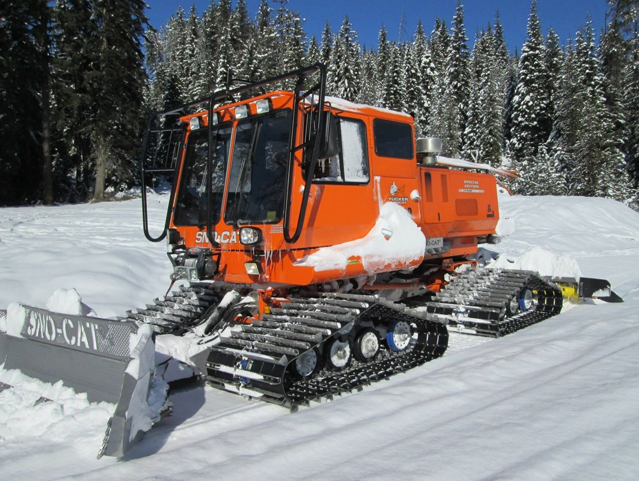With 7,200 miles of trails in the state, around 42,000 registered snowmobiles, and $26 of the registration money used for grooming, there isn't enough money in the program to keep the trails in pristine condition. Latah SnoDrifters photo.