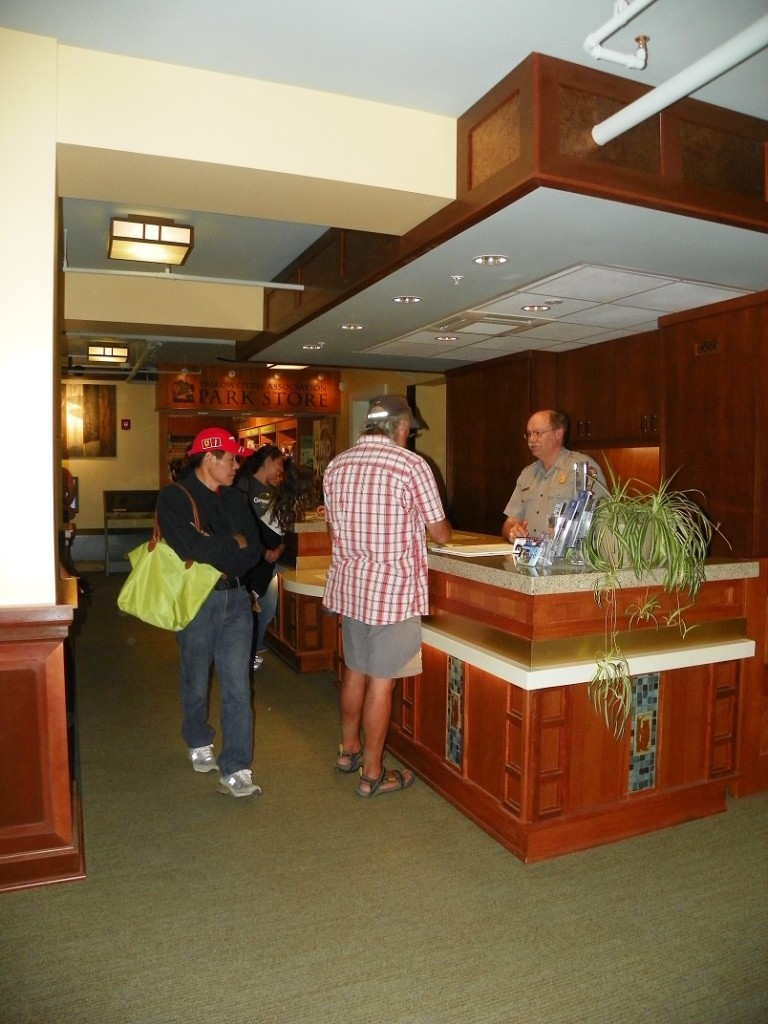 The renovated visitor's center has interactive displays to make visitors experiences a lifelong memory. (NPS photo)